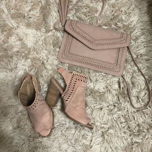 ANKLE BOOTS/ BLUSH